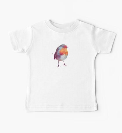 Winter Robin Baby Tee