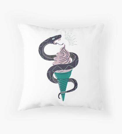 Soft-Serp(ent) Throw Pillow