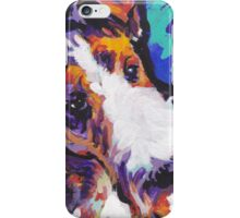 Wire Fox Terrier Bright colorful pop dog art iPhone Case/Skin