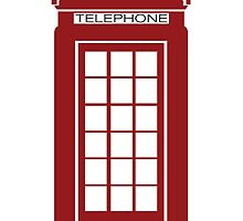 London telephone booth by CaptainTrips