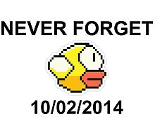 Never Forget Flappy Bird by anders29