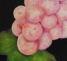 Pink Grapes by peggyguichu