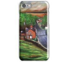 View from St James Warter in the Wolds iPhone Case/Skin