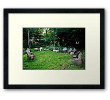 Fairy Seats Framed Print
