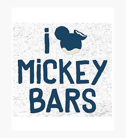 mickey bar Photographic Print