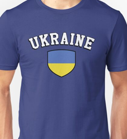 Ukraine Supporters Unisex T-Shirt