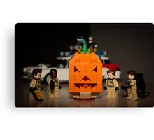 Ghostbusters Pumpkin Canvas Print