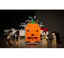 Ghostbusters Pumpkin Photographic Print