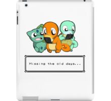 Pokemon Missing old days iPad Case/Skin