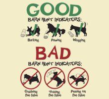 Good and Bad Barn Hunt Indicators by littleredrosie