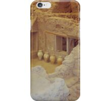 AKROTIRI - Ancient Buried City  iPhone Case/Skin