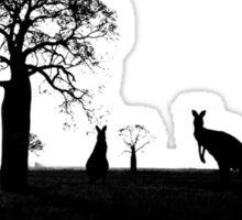Outback Australian Landscape Sticker