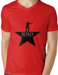 Solo, Not Throwing Away my Shot Mens V-Neck T-Shirt