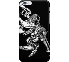 Battle Mallards B&W iPhone Case/Skin