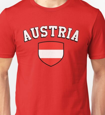 Austria Supporters Unisex T-Shirt