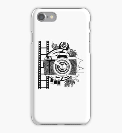 Life of a photographer iPhone Case/Skin