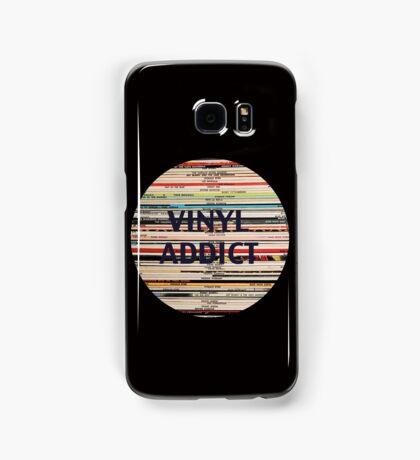 Vinyl Addict records Samsung Galaxy Case/Skin