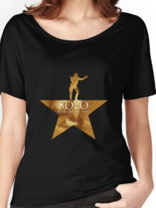 Solo, Not Throwing Away my Shot Women's Relaxed Fit T-Shirt