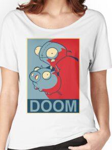 "GIR Doom- ""Hope"" Poster Parody Women's Relaxed Fit T-Shirt"