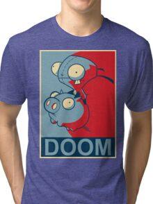 "GIR Doom- ""Hope"" Poster Parody Tri-blend T-Shirt"