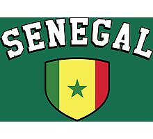 Senegal Supporters Photographic Print