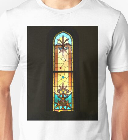 Colorful Stain Glass Window Unisex T-Shirt