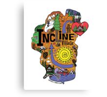 INCLINE VILLAGE Canvas Print