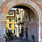 City Arch, Verona  by lezvee