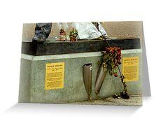 Foot of Freddie Mercury Greeting Card