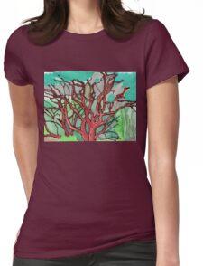 Manzanita Thicket Womens Fitted T-Shirt