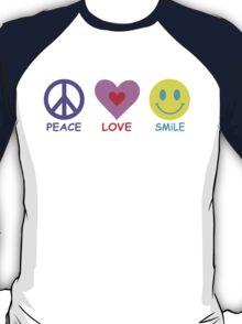 Peace Love Smile T-Shirt