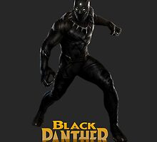Black Panther Shirt by ThePeacockMan