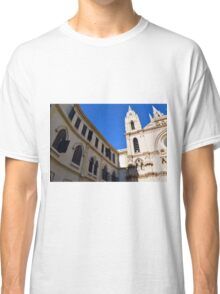 Architectural detail of the cathedral from Malaga, Spain. Classic T-Shirt