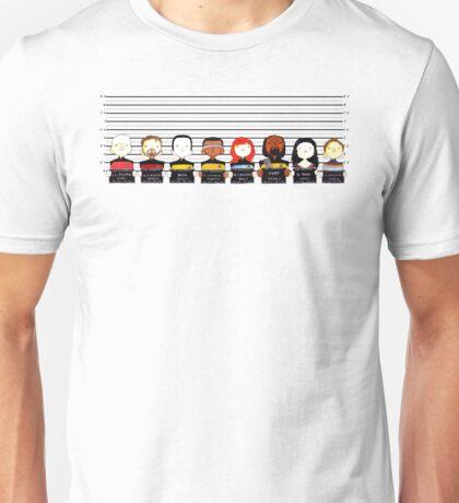 Star Trek TNG Police Lineup Unisex T-Shirt