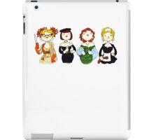 Ladies of Clue iPad Case/Skin