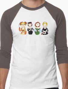 Ladies of Clue Men's Baseball ¾ T-Shirt