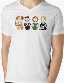 Ladies of Clue Mens V-Neck T-Shirt