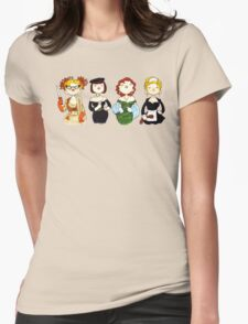 Ladies of Clue Womens Fitted T-Shirt