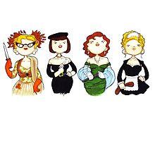 Ladies of Clue by Bantambb