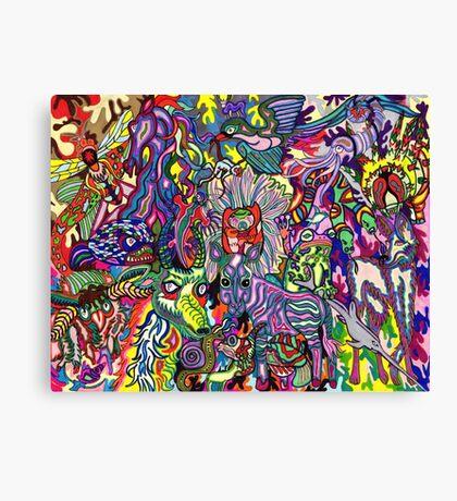 My Doodle Creatures 2 Canvas Print
