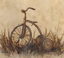 The Old Trike by Dianne  Ilka