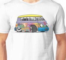 VW split-screen magic bus cartoon Unisex T-Shirt