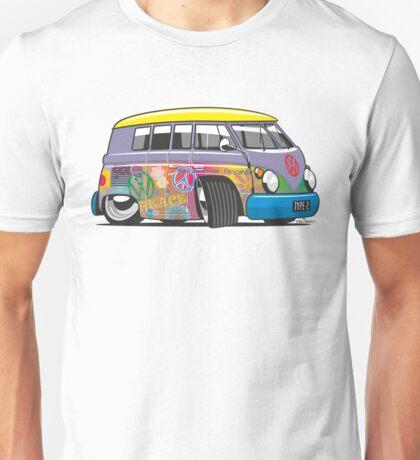 VW split-screen magic bus cartoon Unisex T-Shirt