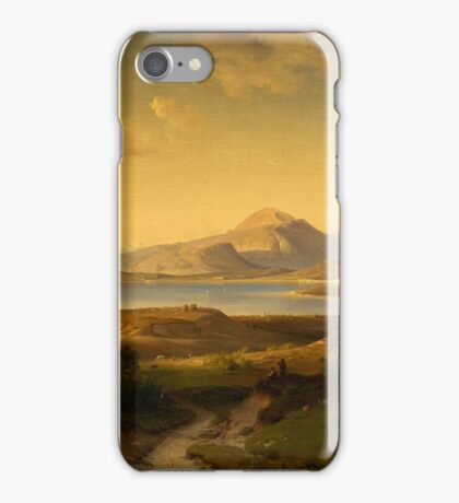Louis Gurlitt, Italian Landscape iPhone Case/Skin