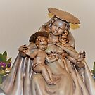 Historical Figures Mother Mary and Baby Jesus by Barberelli