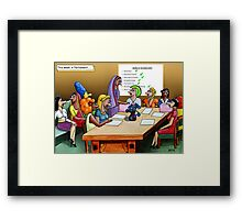 Women of the World Party Framed Print