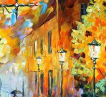 LIGHTS IN THE NIGHT - Leonid Afremov Sticker