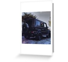 g wagon  Greeting Card