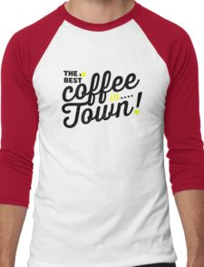 Best Coffee! Men's Baseball ¾ T-Shirt