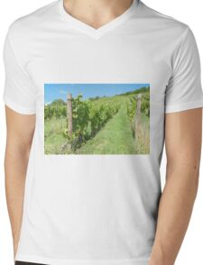 Maribor Slovenia Vineyards dot the hillsides to the north of the city. Mens V-Neck T-Shirt